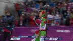 Video «Biathlon: Zieleinlauf Verfolgung der Frauen (sotschi direkt, 11.02.2014)» abspielen