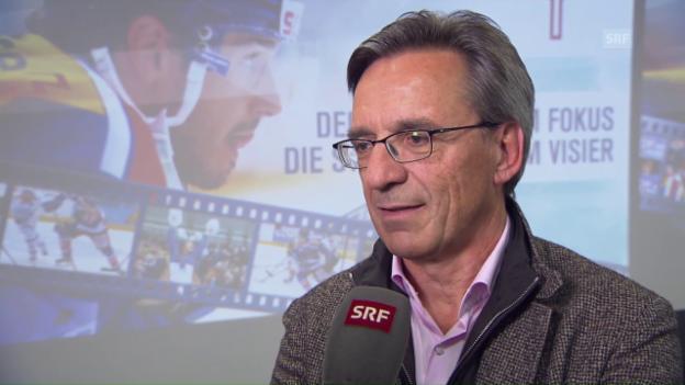 Video «Hans-Ulrich Lehmann nach Klotenübernahme: «Last und Verantwortung zugleich»» abspielen