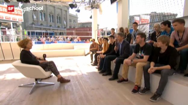 Video «Treffpunkt Bundesplatz: Live-Interview (7/11)» abspielen