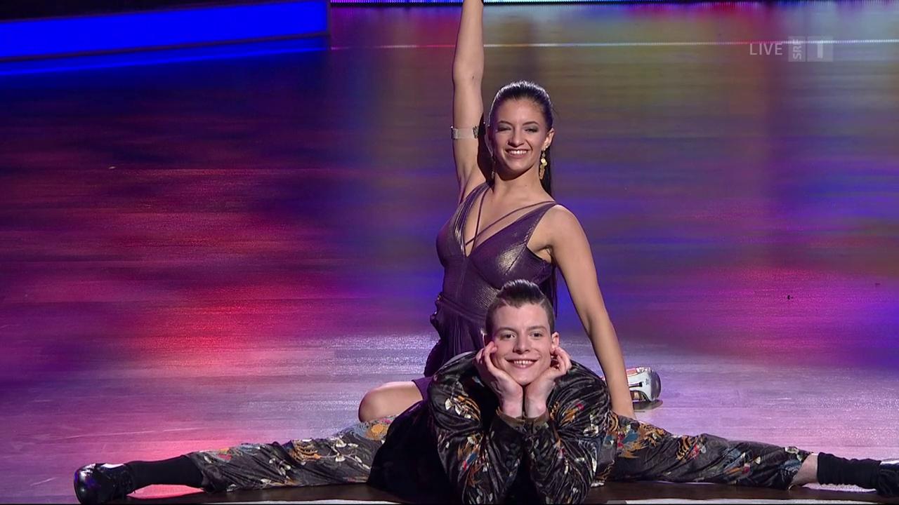 Lucas Fischer und Alessia Gigli - Quickstep - When You're Smiling