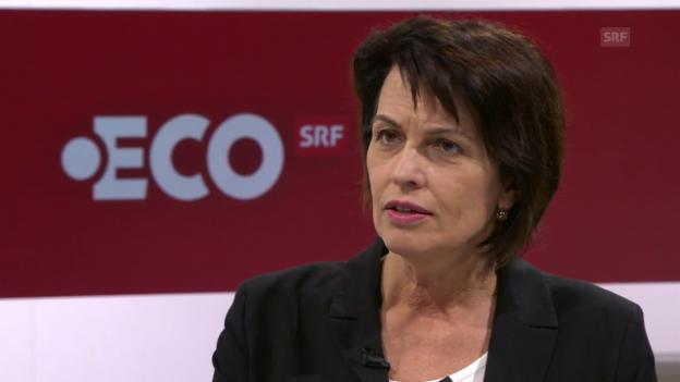 Video «Energiestrategie 2050 – das Interview mit Doris Leuthard» abspielen