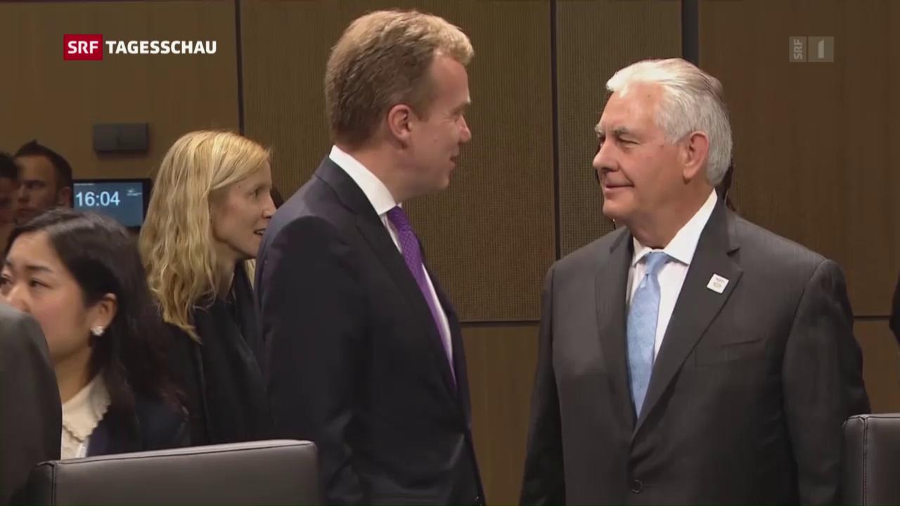 Lawrow und Tillerson beraten über Ukraine-Krise