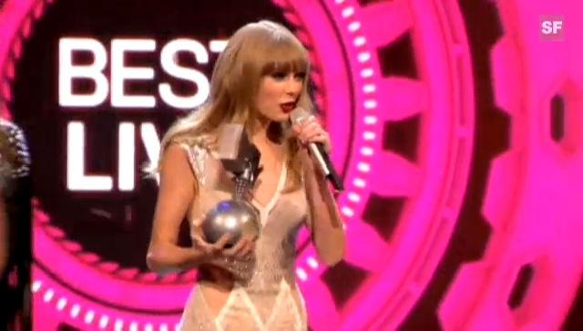 Taylor Swift gewinnt drei Awards