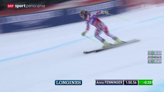 Video «Ski alpin: Weltcup-Finale in Méribel, Riesenslalom Frauen» abspielen
