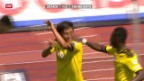 Video «Fussball: Zürich - YB» abspielen