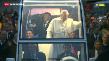Video «Papst Franziskus' Appell an die Jugend» abspielen
