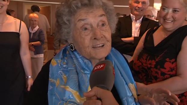 Video «Agnès Parodi: 100. Geburtstag in Cannes» abspielen
