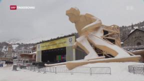 Video «Ökonomische Bilanz der Ski-WM» abspielen