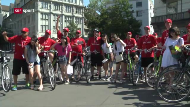 Schweizer Baseball-Nati auf Promo-Tour