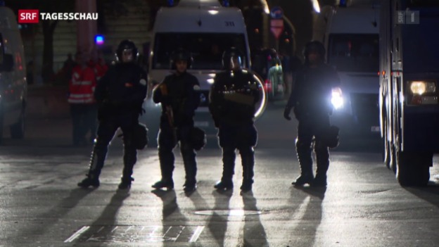 Video «Bern: Polizei verhindert Demo» abspielen