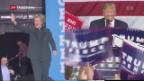Video «Neuer FBI-Entscheid verschafft Clinton Rückenwind vor US-Wahl» abspielen