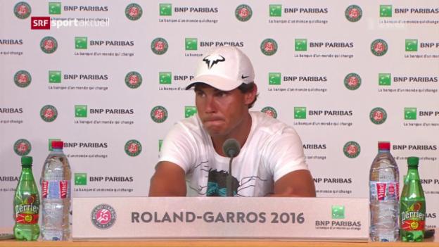Video «Nadal-Forfait in Paris» abspielen