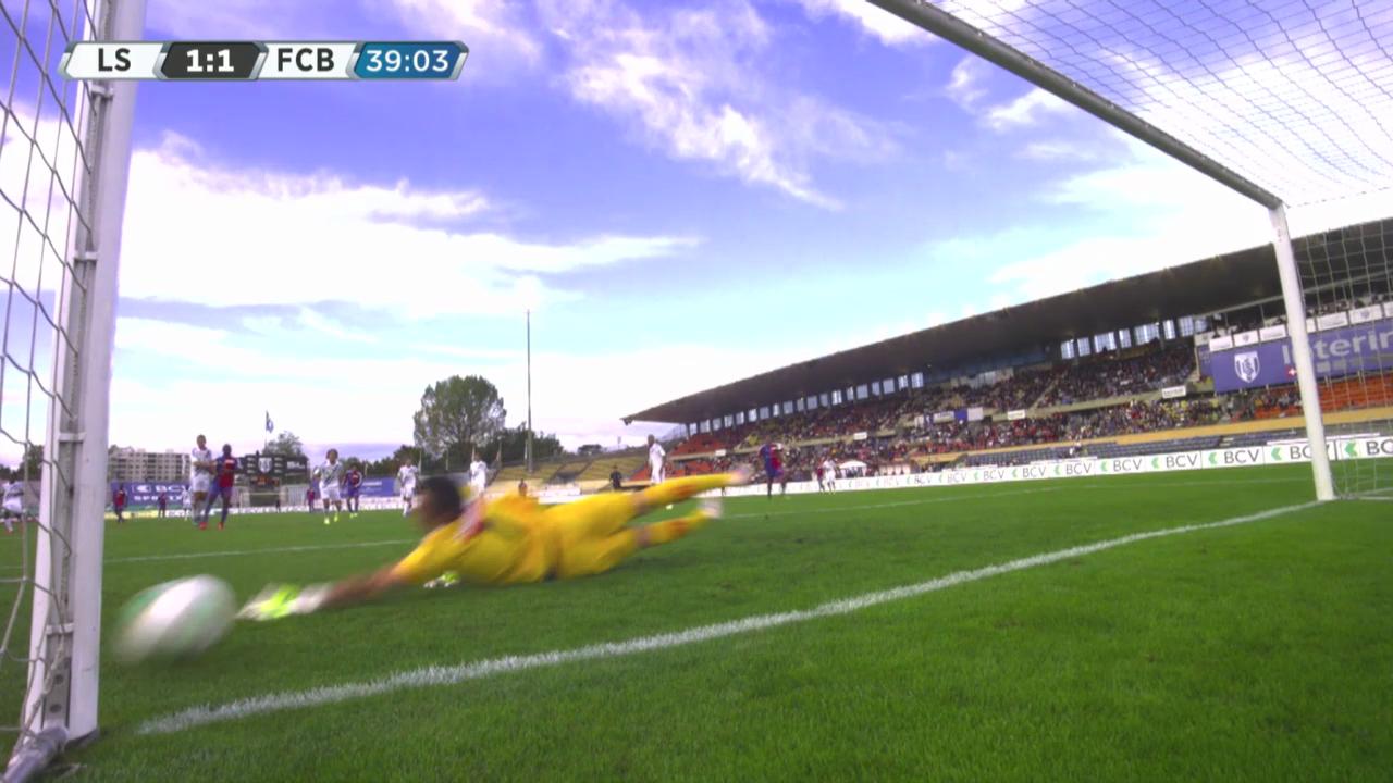 Mohamed Salahs kurioser Ausgleichstreffer gegen Lausanne («sportlive»)