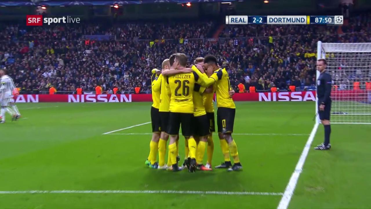 Die Live-Highlights bei Real - Dortmund