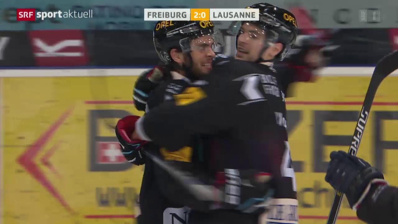 Freiburg qualifiziert sich dank einem Heimsieg gegen Lausanne für die Playoffs