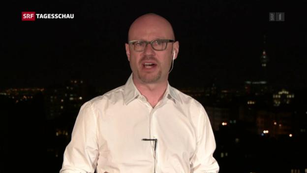 Video «Pascal Weber zum Besuch Trumps in Riad» abspielen