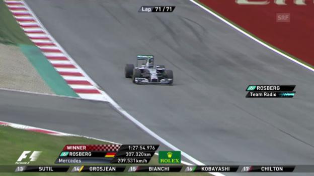 Video «Formel 1: GP Österreich, Highlights» abspielen