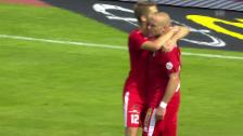 Video «Sion entführt 3 Punkte aus Lausanne» abspielen