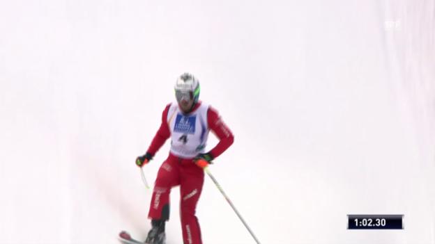 Video «Skicross: WM, Qualifikation Fiva» abspielen