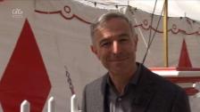 Link öffnet eine Lightbox. Video «G&G Spezial»: Dani Fohrler zu Besuch bei der Zirkusfamilie Knie abspielen