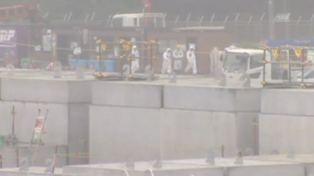 Fukushima: Arbeiter dichten das Leck ab