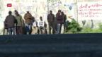 Video «Macron trifft Conte: Keine Lösung im Flüchtlingsstreit» abspielen