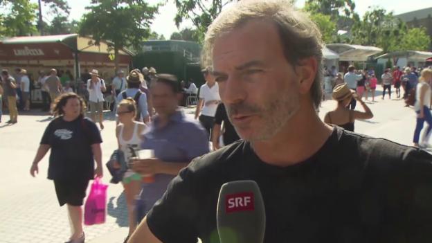 Video «Tennis: French Open, Heinz Günthardt über Wawrinkas Finaleinzug» abspielen