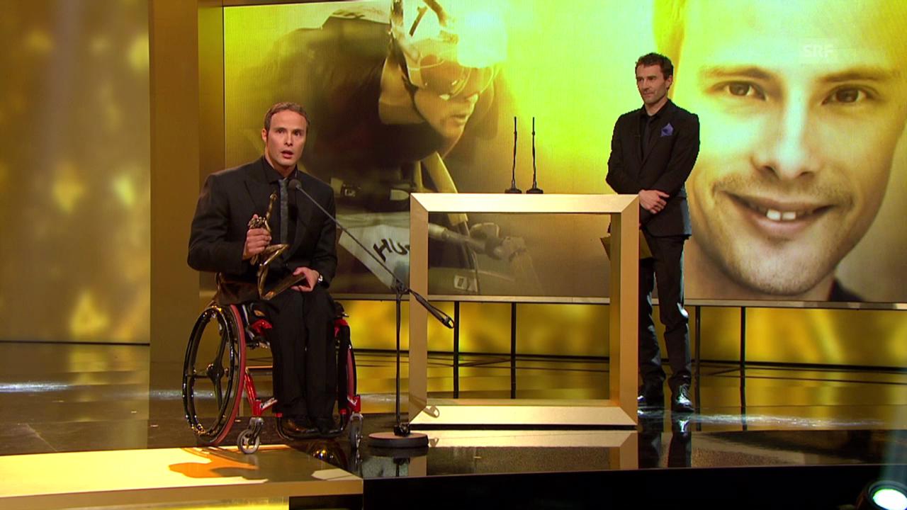 «Sports Awards» Hug ist Behindertensportler des Jahres