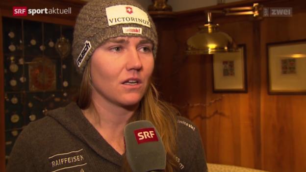 Video «Ski: Frauentraining in Cortina» abspielen