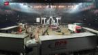 Video «Eishockey: Hallenstadion - vom Konzert- zum Playofftempel» abspielen