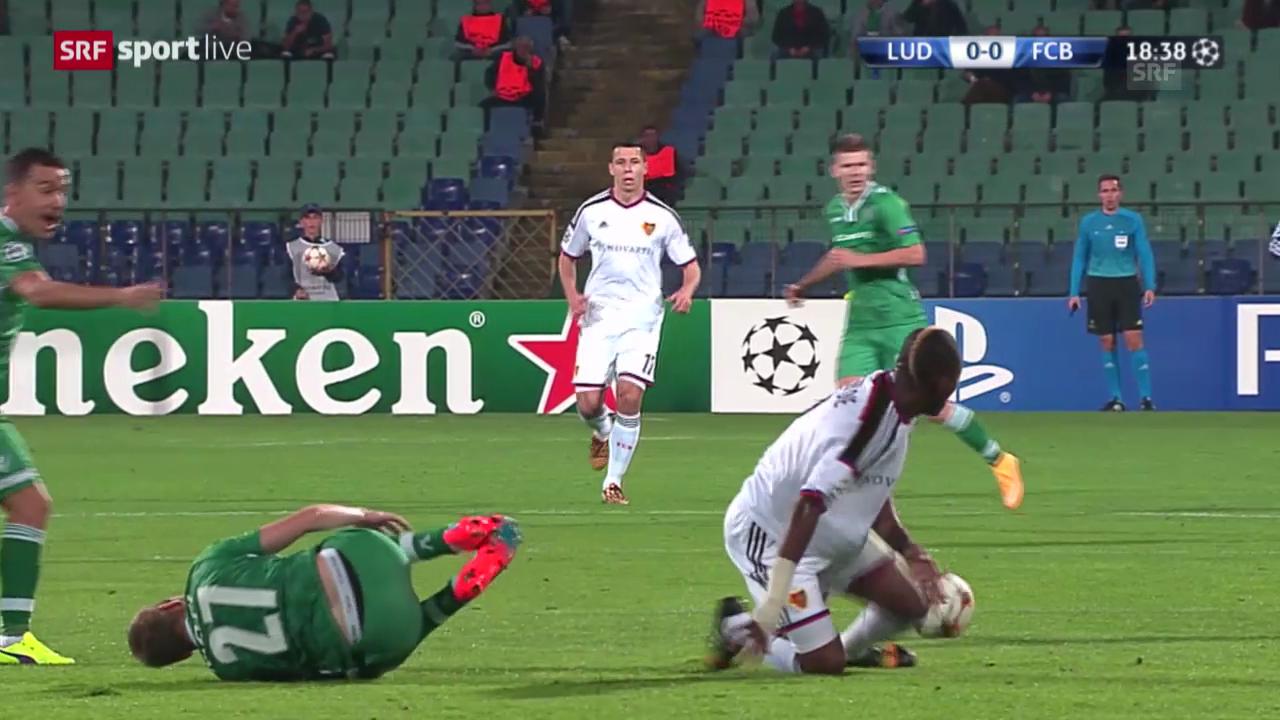 Fussball: CL, Highlights Rasgrad - Basel