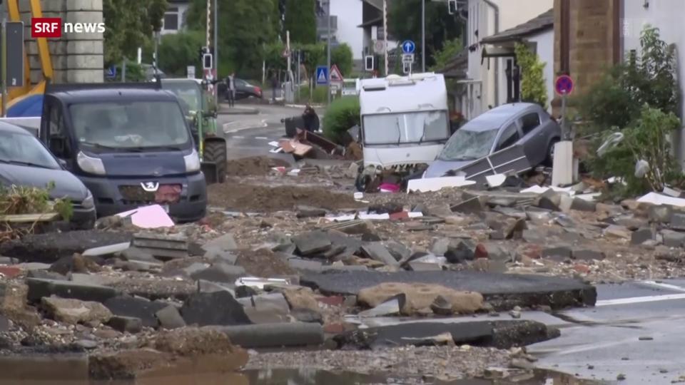 Unwetter in Deutschland fordern Tote