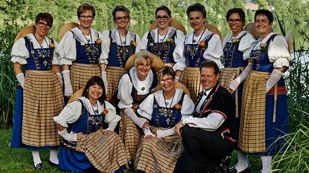Hörprobe: «Ankebälli» vom Jodeldoppelquartett Bärgblüemli Littau