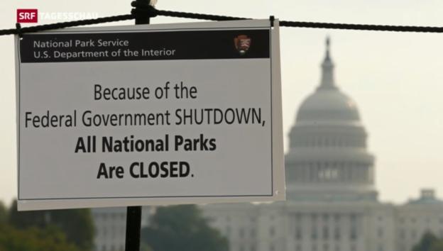 Video «Keine Einigung im US-Budgetstreit» abspielen