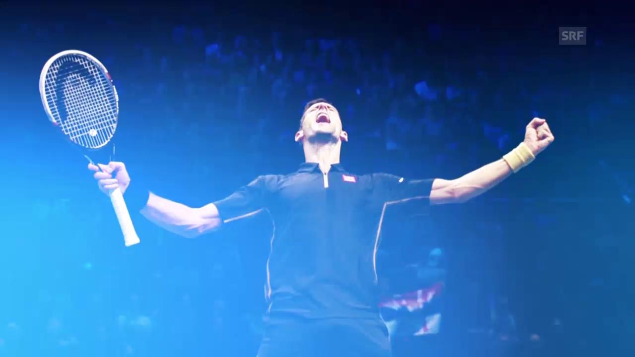 Tennis: ATP Finals, Porträts Djokovic und Nishikori
