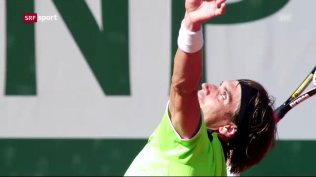Ferrer locker im Halbfinal («sportaktuell»)