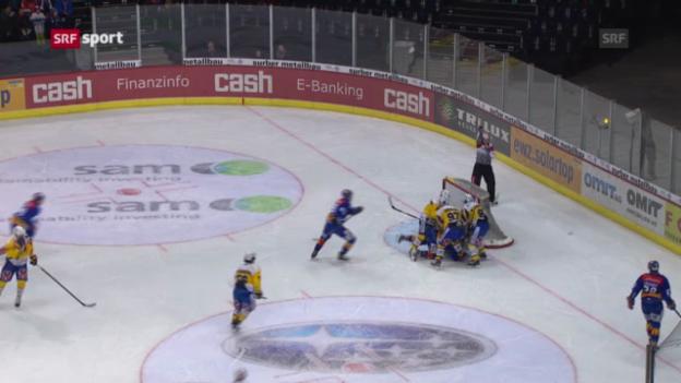 Video «ZSC Lions - HC Davos «sportaktuell»» abspielen