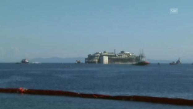 Video «Die «Costa Concordia» auf ihrer letzten Fahrt» abspielen