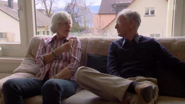 Video ««Alzheimer hautnah» (4) - Immer aufpassen, dass nichts passiert» abspielen