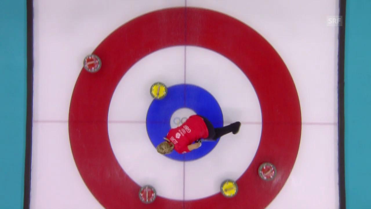 Curling Frauen: Grossbritannien - Schweiz (sotschi aktuell, 15.02.2014)