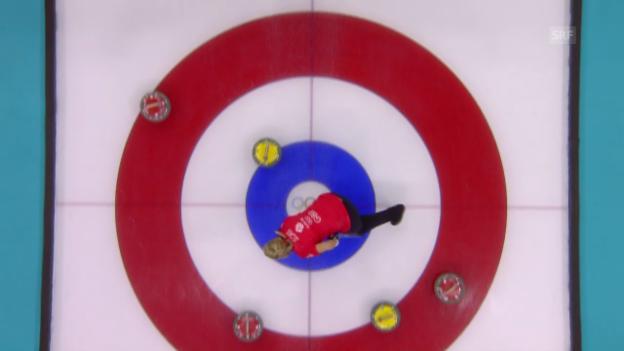 Video «Curling Frauen: Grossbritannien - Schweiz (sotschi aktuell, 15.02.2014)» abspielen