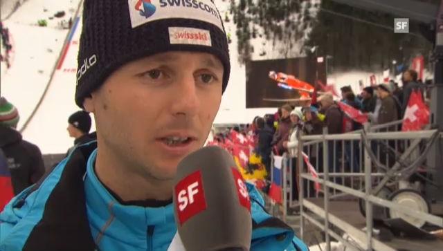 Skispringen: Interview Martin Künzle