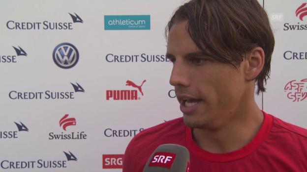 Video «Fussball: EM-Quali, Litauen - Schweiz, Interview Yann Sommer» abspielen