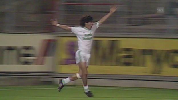 Video «Fussball: Rückblick auf Ivan Zamoranos Jahre in St. Gallen» abspielen