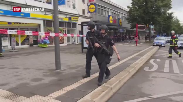 Video «Hamburger Attentäter war Islamist mit psychischen Problemen» abspielen