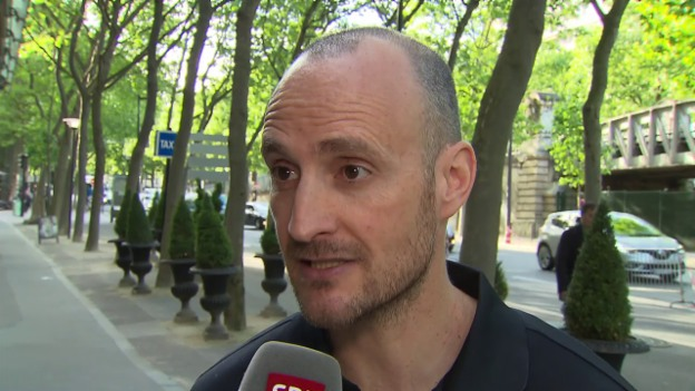 Video «Assistenztrainer Christian Wohlwend zum Viertelfinal-Einzug» abspielen
