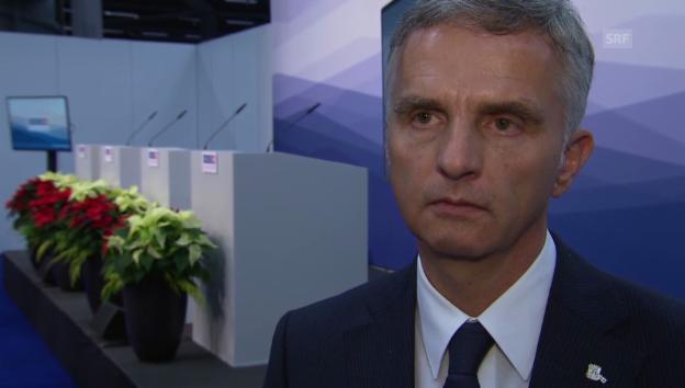 Video «Didier Burkhalter blickt zurück auf seine OSZE-Präsidentschaft» abspielen