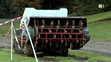 Minenräumen mit Schweizer Technik
