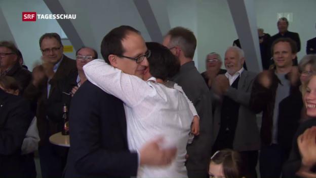 Video «FDP wehrt in St. Gallen SVP-Angriff ab» abspielen