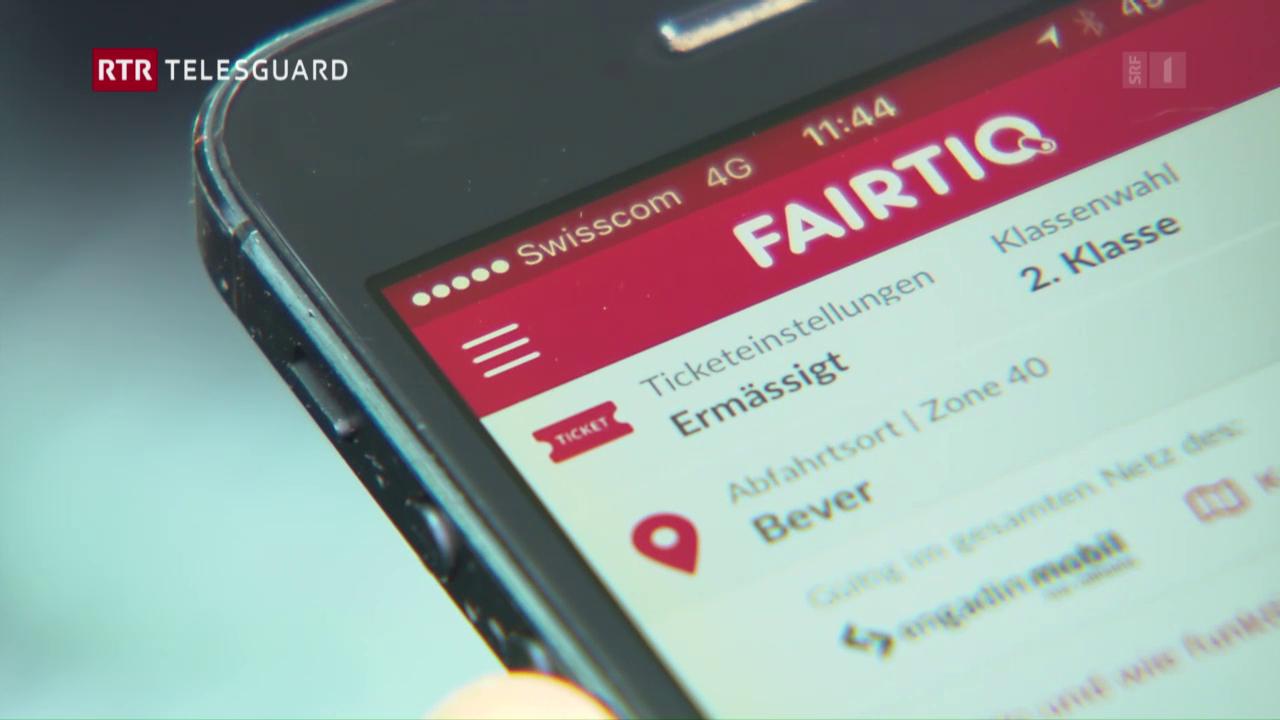 La Viafier retica lantscha ina nova app